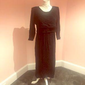 Vintage layered 90s dress